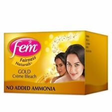 FEM Gold Bleach Lightening Fairness Golden Glow Face Mask Cream Whitening 24 gm