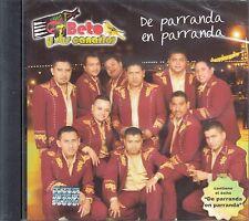 Beto Y Sus Canarios De Parranda En Parranda CD New Nuevo sealed