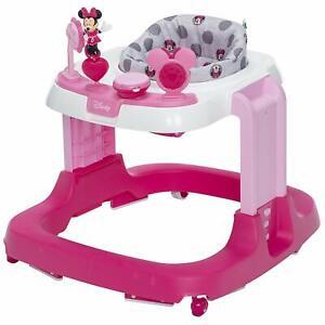 Baby Ready, Set, Walk, 12 Song Developmental Walker, Disney Minnie, Grey Dots