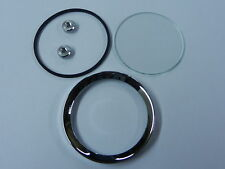 Land Rover Series 1/2 Jaeger/Smiths Gauge Reconditioning Kit Glass Seal Bezel 2""