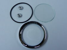 MG MGA MGB Midget Jaeger Smiths Gauge Reconditioning Kit Glass Seal Bezel 2""