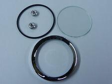"Land Rover Series 1/2 Jaeger/Smiths Gauge Reconditioning Kit Glass Seal Bezel 2"""