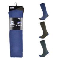 Mens Wellington Boot Boys Wellie Liner Long Winter Socks Size 7-11