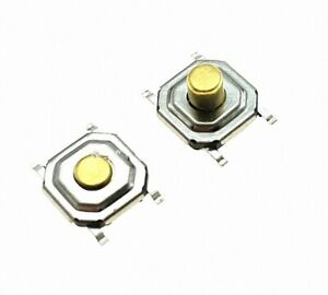 50pc Tactile Tact Push Button Micro Switch Momentary 4*4*1.5MM SMD Button Switch