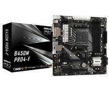 Asrock Pro 4 AMD B450 Micro ATX DDR4-SDRAM Motherboard