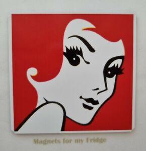 Collectable Redheads Matches 1975 Design Fridge Magnet - M763 LA