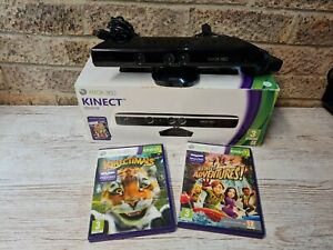 Xbox 360 Kinect Bundle - Boxed - 2 Games Power adapter