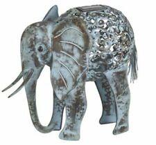 Smart Solar Metal Silhouette Elephant Light Decorative Garden / House Feature