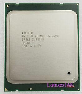 Intel Xeon E5-2690 2.9GHz 8-Core 20M HT Processor LGA 2011 CPU SR0L0