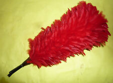 Plumet di colore rosso per casco Corazziere, verso 1880-1900 circa