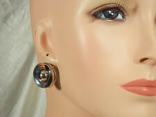 Givenchy Signed Vintage 1950s Modernist Earrings  172E