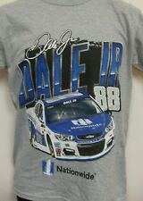 Dale Earnhardt Jr Nationwide Chassis 2 Spot Gray T-Shirt Adult Medium  # 88