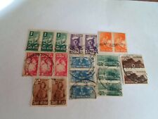 Complete set South Africa miniature stamps Scott# 90 - 97