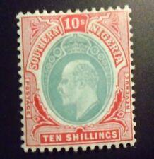 Southern Nigeria stamp # 42 mint OG HR VF