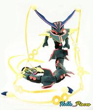 New Pokemon Center Shiny Black Mega Rayquaza Soft Plush Stuffed Toy Doll US ship