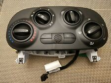 GENUINE FIAT 500 ABARTH CLIMATE CONTROL PANEL with TTC BUTTON - 00517958710