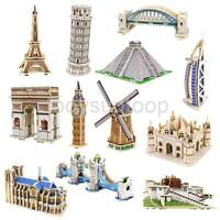 Super 3D puzzles Empire State/ Eiffel tower/ Boats/ Ships/ Spaceships/ Buildings