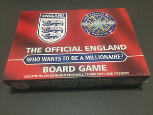 The Official England Who Wants To Be A Millionaire? Board Game New & Sealed