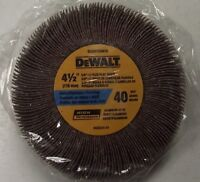 DEWALT DAGH1G0410 4-1/2 x 3/4 x 5/8 - 11 40 Grit Flap Wheel 1pc.