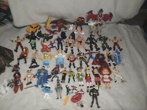 Huge vintage action figure lot, 50+, wwf hasbro, gi joe, ljn, remco, mixed toys