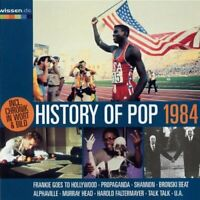 History of Pop 1984 FgtH, Talk Talk, Alphaville, Fancy, Murray Head, Rock.. [CD]