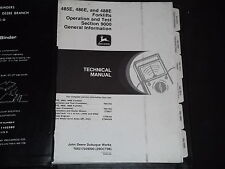 John Deere 485E 486E 488E Forklift Technical Service Shop Op Test Manual Tm1703