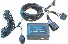 USA SPEC BT45-ACU ADD BLUETOOTH CAPABILITY TO 2005-09 ACURA WITH LIVE TRAFFIC