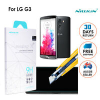 Genuine Nillkin 9HR Tempered Glass Film Screen guard protector for LG G3
