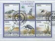 Timbres Oiseaux Comores 1726/30 o année 2009 lot 21389 - cote : 12,50 €