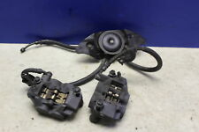 2005 Yamaha Yzf R6 Right Left Front Brake Caliper Set Pair Calipers W/ Lines