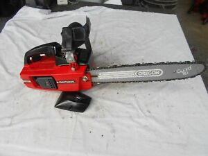 Craftsman 2.3 14 in Chainsaw Poulan 2300 Skilsaw Collector with Original Box