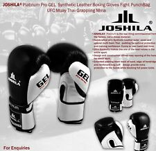 Boxing Gloves Professional Sparring Glove Punch Bag Training MMA Mitts All Sizes