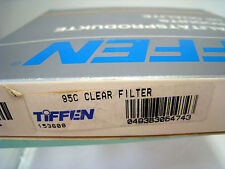 New Tiffen 95mm Coarse Thread Clear Standard Coated Filter 95C #95CCLR