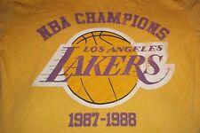 Los Angeles Lakers 1987 1988 NBA Champions Junk Food T-Shirt Youth Child 6/7 Gap
