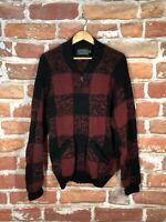 Vtg Polo Country Ralph Lauren M Buffalo Plaid RRL Mackinaw Shawl Hunting Jacket