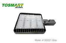 LED Shoebox Pole Light Grey 300W AC200-480V 5000K Parking Lot Area Security