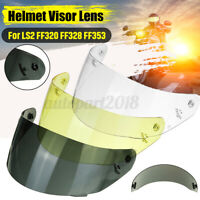 Motorcycle Helmet Visor Shield Lens Full Face Flipup For LS2 FF320 FF328 FF353