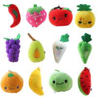 Decoration Mini Size Stuffed Vegetables Little Toys Children Dolls Plush Fruits