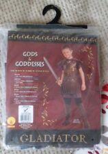 GLADIATOR FANCY DRESS COSTUME ROMAN AGE 5 - 7 NEW IN BAG