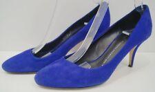 GIUSEPPE ZANOTTI DESIGN Purple Suede High Stiletto Pump Court Shoes UK6 EU39
