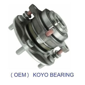 Front Wheel Hub & KOYO Bearing Complete Assembly For 2007-2019 TOYOTA TUNDRA 2WD