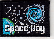 """SPACE DAY"" - OUTER SPACE - LEARNING - SCHOOL - Iron On Embroidered Patch"