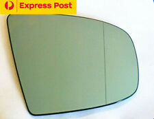 Right side mirror glass to suit BMW X5 E70 2007-2013 Heated Convex blue w base