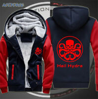 Agents of S.H.I.E.L.D. Shield HAIL HYDRA Sweatshirt Men's Hoodie Jacket Coat