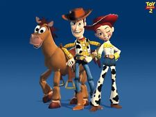 Toy Story Sheriff Woody Jessie Edible Birthday Cake Topper Frosting Icing Sheet