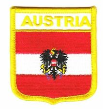 Wappen Aufnäher Österreich Adler Patch Flagge Fahne