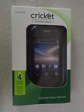 Cricket Samsung Galaxy Discover Kickstand Shield Black SKU CPC1145 Brand New
