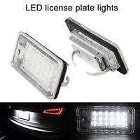LED Number License Plate Light Audi-A3 8P A4 S4 RS4 B6 B7 Q7 A6 S6 C6 A8 S8