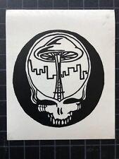 Grateful Dead Jerry Garcia SYF SEATTLE SPACE NEEDLE window sticker Bob Weir 1994