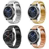 Sleek 3-Link Stainless Steel Universal Watch / Smartwatch Bands for 20mm & 22mm